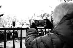 ` S mars de femmes d'Ann Arbor Michigan 2018 Photographie stock