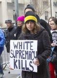 ` S marzo delle donne su Washington Immagine Stock