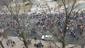 ` S marzo delle donne su Washington Fotografie Stock