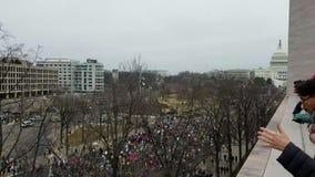 ` S marzo delle donne su Washington video d archivio