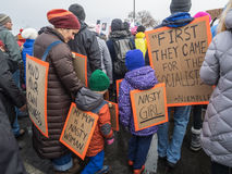 ` S marzo, Saint Paul, Minnesota, U.S.A. delle donne Immagini Stock Libere da Diritti