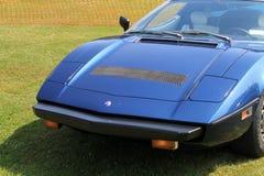 1970s Maserati supercar obrazy stock