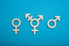 S?mbolo, activismo y las derechas del transexual Transporte civil, concepto bisexual foto de archivo
