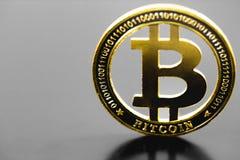 s?mbolo del bitcoin fotografía de archivo