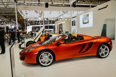 650S from Mclaren on 2014 CDMS Royalty Free Stock Images