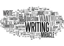 It S A Miracle Word Cloud Concept. It S A Miracle Text Background Word Cloud Concept royalty free illustration