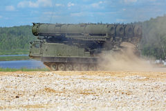 S-300 missile Royalty Free Stock Photo