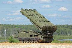 S-300 missile Stock Photos