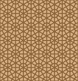 S?ml?s geometrisk prydnad i bruna f?rglinjer vektor illustrationer