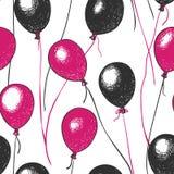 S?ml?s modell f?r vektor av ballonger fotografering för bildbyråer