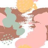 S?ml?sa modeller f?r abstrakt borste stock illustrationer