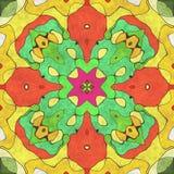 S?ml?st utsmyckat f?r kalejdoskopisk konstgeometri royaltyfri illustrationer