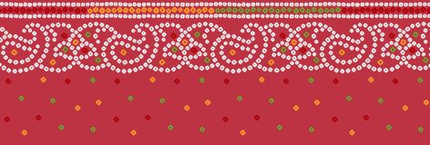 S?ml?s traditionell bandannagr?ns royaltyfri illustrationer