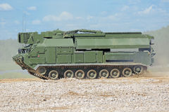 S-300 mobile radar Stock Images