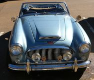 1960's Model British Austin Healey Motorcar Stock Photo