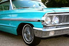 1960's Model Classic Ford Galaxy 500 XL Royalty Free Stock Images