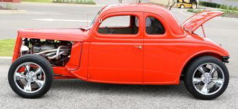 1940's Model Ford Antique Car Stock Photo