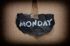 It's monday again Royalty Free Stock Images