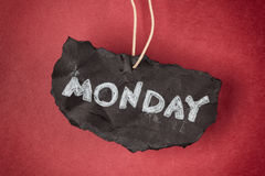 It's monday again Royalty Free Stock Photos