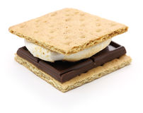 S'more, ognisko funda Fotografia Stock