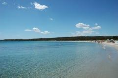 s morze Sardinia Zdjęcie Stock