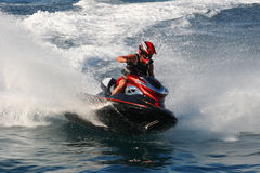 s motoryczna konkurencji sport wody zdjęcia royalty free