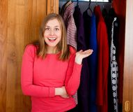 It's my New Closet! Royalty Free Stock Images