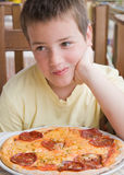 It's my  pizza Royalty Free Stock Image