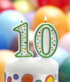 It's My 10th Birthday Stock Images