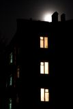 's nachts Stock Foto
