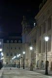 's nachts architectuur Stock Fotografie