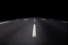 's nachts asfalt royalty-vrije stock foto's