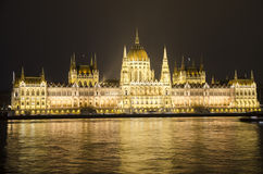 's nachts Boedapest Royalty-vrije Stock Afbeelding