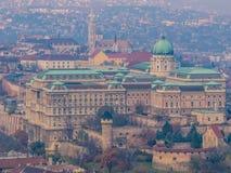's nachts Boedapest Stock Foto's