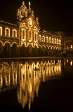 's nachts Braga stock foto