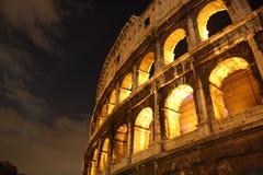 's nachts Colosseum Royalty-vrije Stock Fotografie
