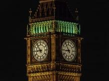 's nachts de Big Ben Royalty-vrije Stock Foto's
