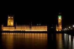 's nachts de Toren van de Big Ben Royalty-vrije Stock Foto