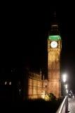 's nachts de Toren van de Big Ben Royalty-vrije Stock Foto's