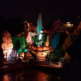 's nachts Disney Royalty-vrije Stock Fotografie