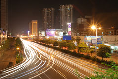 's nachts Foshan Royalty-vrije Stock Fotografie