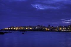's nachts Gallipoli Royalty-vrije Stock Foto's
