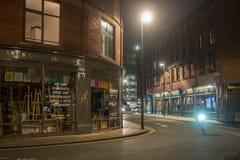 's nachts Leeds royalty-vrije stock afbeeldingen