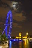 's nachts Londen Royalty-vrije Stock Afbeeldingen