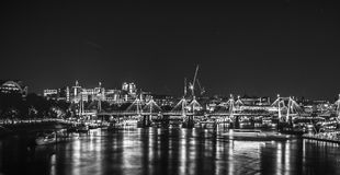 's nachts Londen Royalty-vrije Stock Foto
