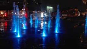 's nachts Milaan Royalty-vrije Stock Afbeeldingen