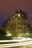 's nachts Montmartre Royalty-vrije Stock Afbeelding