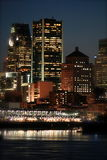 's nachts Montreal Royalty-vrije Stock Foto's