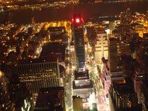 's nachts New York Royalty-vrije Stock Afbeeldingen