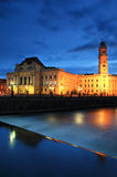 's nachts Oradea Royalty-vrije Stock Foto
